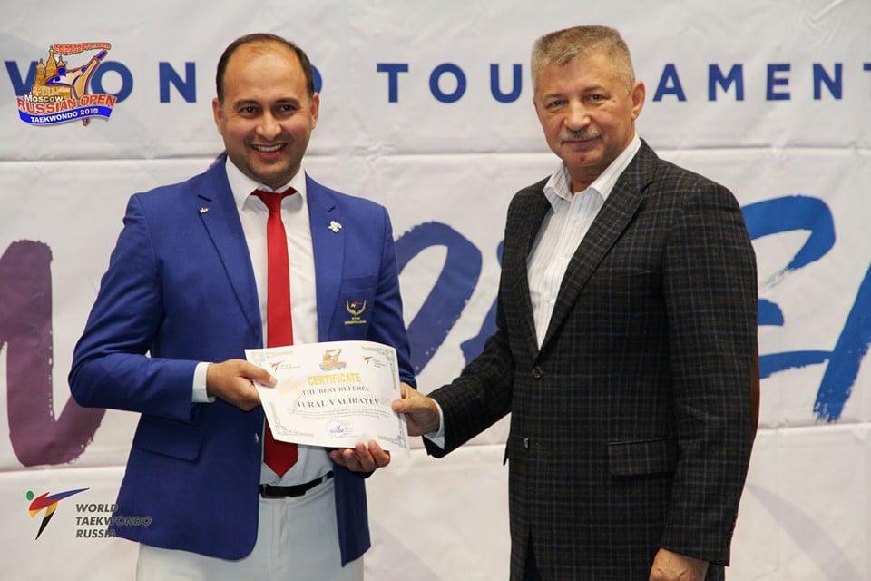 Azərbaycanlı hakim Rusiyada ən yaxşı seçildi