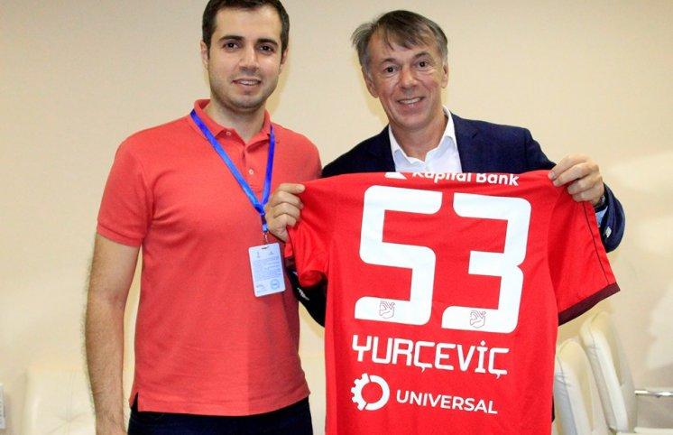 Riad Rəfiyev Yurçeviçi təbrik etdi (FOTO)