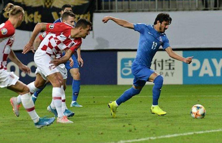 AFFA Xorvatiyaya qol vuran futbolçunu sərt cəzalandırdı