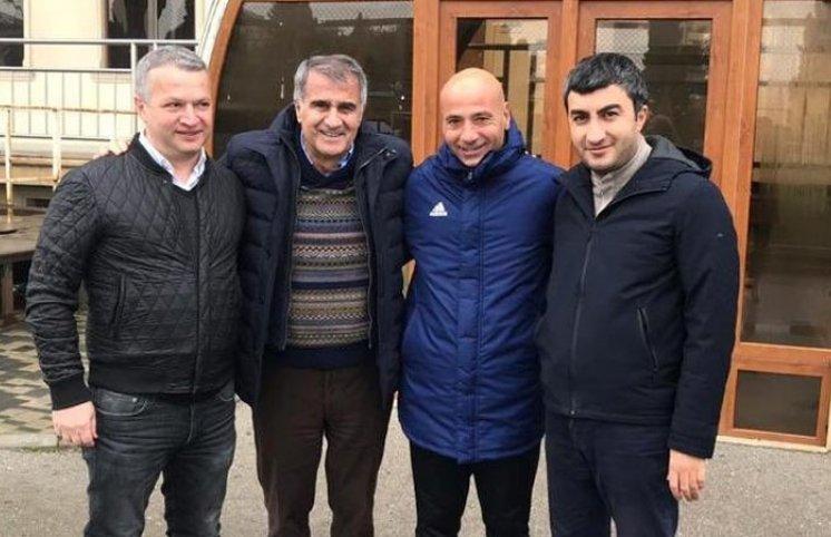 Şenol Günəş Bakıya gəldi (FOTO)