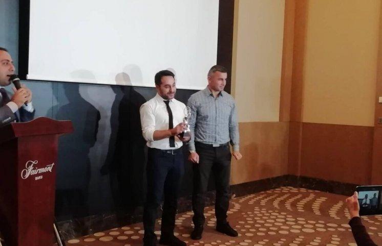 Qurban Qurbanov 10-cu dəfə ən yaxşı seçildi (FOTOLAR)