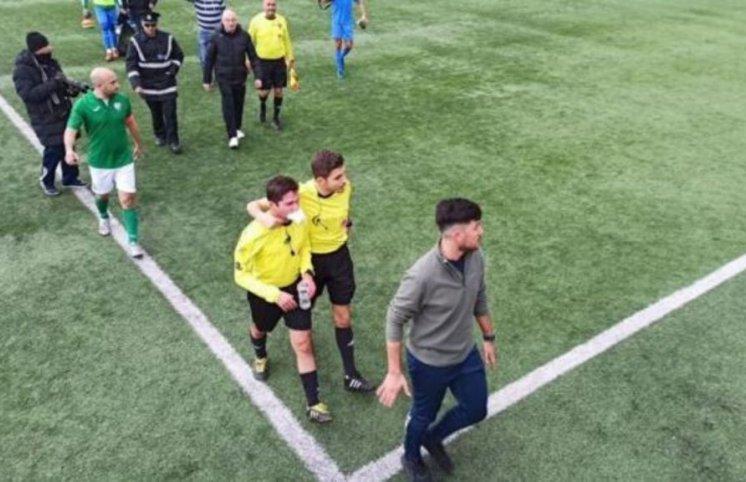 Hakimi vuran futbolçu məhkəməyə çıxacaq (FOTOLAR, VİDEO)